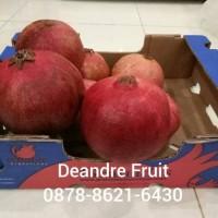 Buah Delima Merah Import Jumbo Harga DIJAMIN MURAH DIBAWAH PASARAN