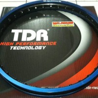 Pelek velg rim TDR two tone 1.40x17 Blue/Black