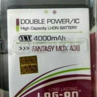 Baterai Double Power Mito Fantasy Mox/A38/BA-00100 Batre Log On 2 IC