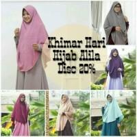 diskon 20% khimar hari size s by hijab alila