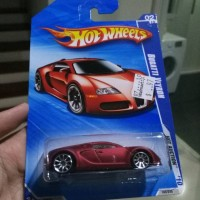 Hot Wheels Bugatti Veyron Red Satine