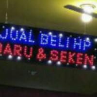 tulisan lampu led / led sign jual beli hp baru & seken