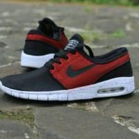 harga Sepatu Nike Stefan Janoski Skate Premium Quality / Black White Red Tokopedia.com