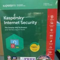 Jual Kaspersky Internet Security 3User 2018 Murah