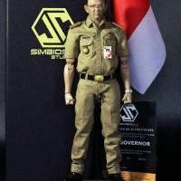 Jual Simbiosix 1/6 the governor ahok not hot toys Murah
