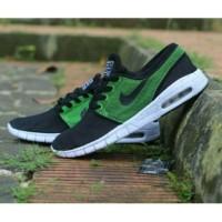 harga Sepatu Nike Stefan Janoski Skate Premium Quality / Black Green Tokopedia.com