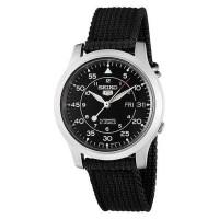 Jual Jam tangan seiko 5 SNK809K2 automatic 21 jewels black military ori Murah