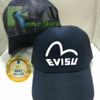 Topi Trucker Evisu Baseball Snapback - Reove Store