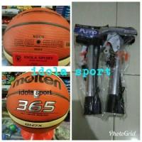 FREE POMPA BESI BASKET MOLTEN GH7X ORIGINAL FIBA OFFICIAL