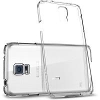 Jual Spigen Samsung Galaxy S5 Case Ultra Fit Shell Original - Crystal Clear Murah