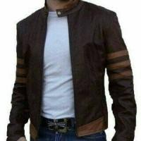 Jual Jaket X-Man Cokelat Wolverine Murah