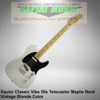 Squier Classic Vibe Telecaster 50s Maple Neck Vintage Blonde original