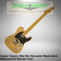 Squier Classic Vibe Telecaster 50s Maple Neck Butterscotch Blonde