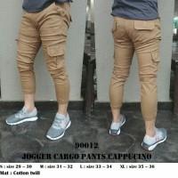 Jual x06, Jogger cargo pants cappucino matt cotton twil Murah