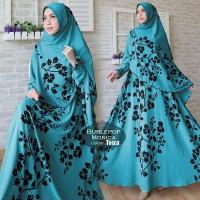 model baju muslim gamis terbaru dan modern Bublepop Monica
