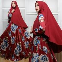 Jual model baju muslim gamis terbaru dan modern SYARI MAXMARA SABRINA Murah