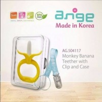Jual Ange Monkey Banana Teether with clip & case gigitan bay Limited Murah