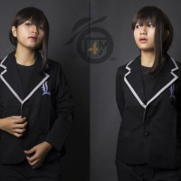 Blazer Anime Death Note (Lawliet) Hitam - Jaket Sweater Jas pd