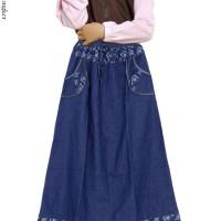 Rok Jeans Anak Panjang + Pakaian Anak Rok + Rok Anak