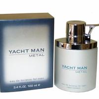 JUAL Original Parfum Yacht Man Metal Edt 100ml