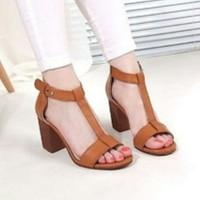 Jual MSFL High heels US19 Tan 757 Murah