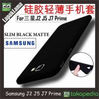 Case Slim Black Matte Samsung G530 J2 J5 J7 Prime 2016 Softcase Matte