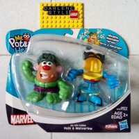Jual PLAYSKOOL Mr Potato Head HULK and WOLVERINE Original Hasbro  Murah