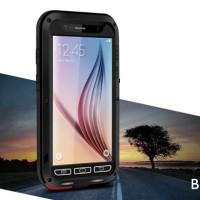Jual LOVE MEI LUNATIK Samsung Galaxy S6 S7 Flat cover case hp casing bump  Murah