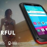 LOVE MEI LUNATIK LG G4 dual full cover case casing hp bumper metal 3