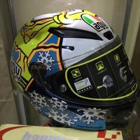 Jual SALE!!! 2nd helm agv pista gp snowman size L kondisi 99% like new(893) Murah