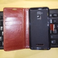 Asus Zenfone 3 Max ZC520TL Retro Luxury Wallet PU Leather Flip Case