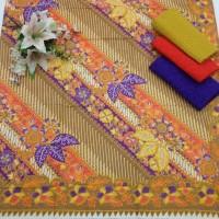 KKK400 Kain Batik Bahan Katun & Embos Bawahan Kebaya Kutubaru