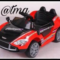 Mobil Mainan Aki Pmb buka pintu Pakai remote control