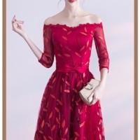 1710010 Gaun Pesta Import Gaun Panjang Gaun Malam Party Maxi Dress