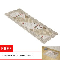Vintage Story - Shabby Bed/ Table Runner 50x135 (Quilting) TFREE-06