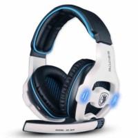 Headset Sades SA-903 USB Gaming 7.1 Sound