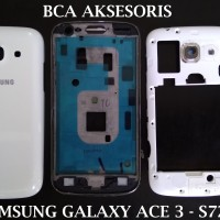 CASING SAMSUNG GALAXY ACE 3 - S7272 - S7270 HOUSING FULLSET TULANG