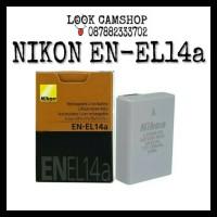 BATERAI BATTERY NIKON EN-EL14a EN EL 14 ENEL14 FOR D3300 D5200 D5300