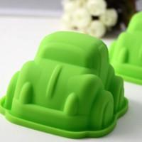 Jual New  Cetakan Puding / Kue / Coklat Silicone Bentuk Mobil / Car Murah