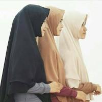 Jual Khimar Ayra Cerruty 2 Layer Pad Size M Hijab Alila Murah