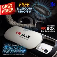 Jual Paling Laris VR Box Second Generation V2 Virtual Reality for Smartphon Murah