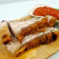 Nyamnyam Kitchen - Babi Panggang Asin, Sambal Tauco (Kemasan 1/2 KG)