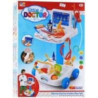 Jual LITTLE DOCTOR TROLLEY BLUE - DOCTOR SET Murah
