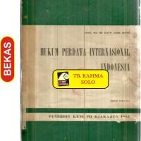 Jual BL-2.908. HUKUM PERDATA INTERNASIONAL INDONESIA. POF.MR.DR.GOUW GIOK S Murah