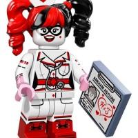 Jual Lego Minifigures 71017 The Lego Batman Movie - Nurse Harley Quinn Murah