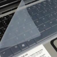 Jual Silicon Keyboard/Keyboard Protection/Pelindung Keyboard Bening  Murah