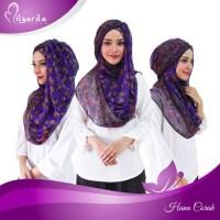 Jual hijab instan hanna corak kerudung syari jilbab fashion muslim Murah