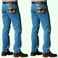 CUCI GUDANG SPESIAL Celana Jeans Levis Pria Regular/Standar Warna Abu