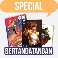 Paket Komik Nusa V + Foto dan Tanda Tangan Ghaida Farisya