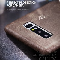 X-LEVEL LEATHER VINTAGE HARDCASE SOFT COVER SAMSUNG GALAXY NOTE 8